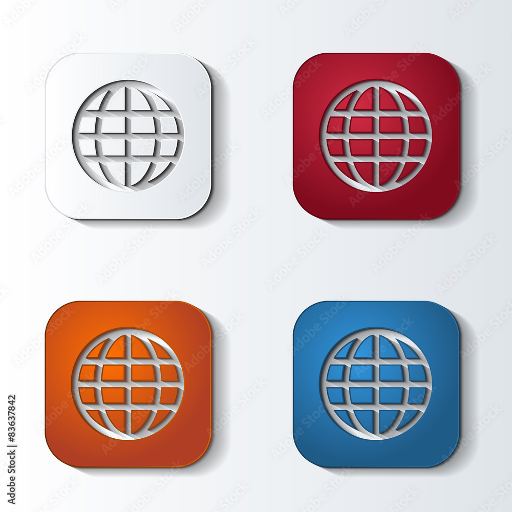 Fototapeta icon4colors_rounded_square_159