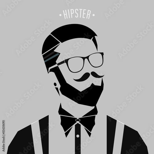 wektorowy-hipster