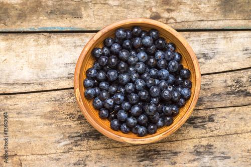 Valokuva  Natural healthy berry background