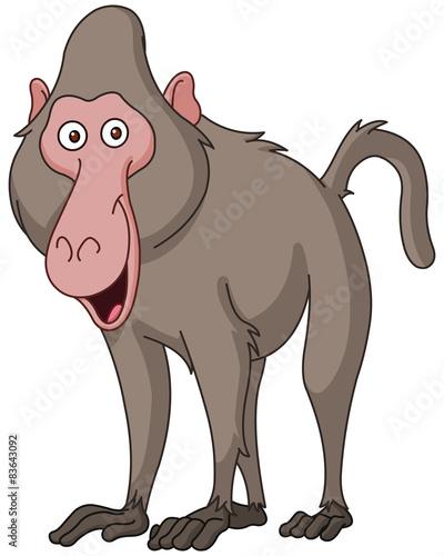 1 272 Animal Baboon Cartoon Character Wall Murals Canvas Prints Stickers Wallsheaven Baboon recreated the nba logos as cartoon characters. 1 272 animal baboon cartoon character
