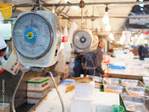 Fotografie, Obraz  Tsukiji Market