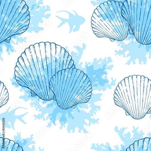blekitny-morski-bezszwowy-wzor
