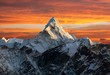 Leinwandbild Motiv Ama Dablam on the way to Everest Base Camp