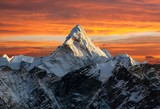 Fototapeta Natura - Ama Dablam on the way to Everest Base Camp