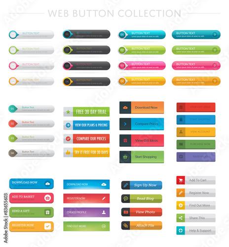 Fotografía  Web Button Collection