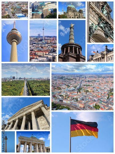 Berlin - travel postcard - Buy this stock photo and explore