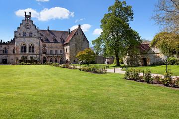 Fototapeta na wymiar Kronenburg der Burg Bad Bentheim