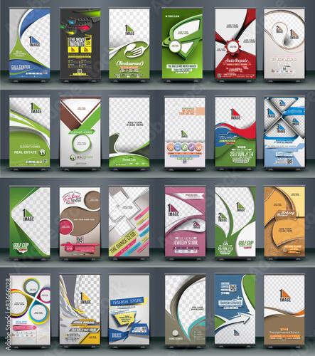 Mega Collection of Roll Up Banner Design - 2