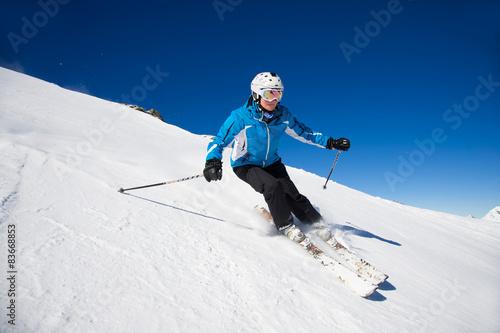 Fotografía  Skifahrer