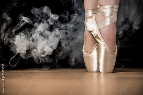 obraz dibond Smoking Point Ballet