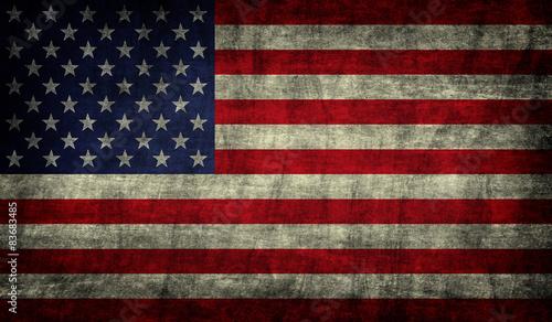 Grunge USA Flag Tapéta, Fotótapéta
