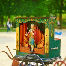 Vintage Barrel Organ