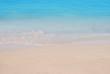 Wave of sea on sand beach