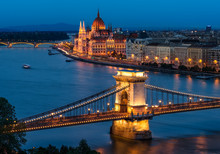 Budapest Chain Bridge And The ...