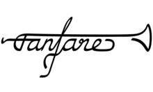 Fanfare Als Logotype