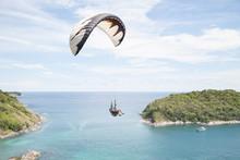 Paraglider Laempromthep Phuket Thailand