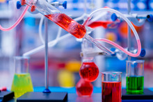 Colour In Chemical  Laboratory