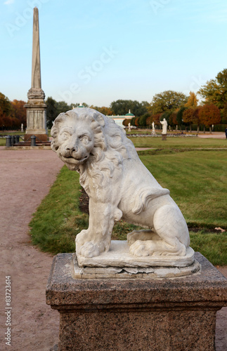 Photo  statue in the park