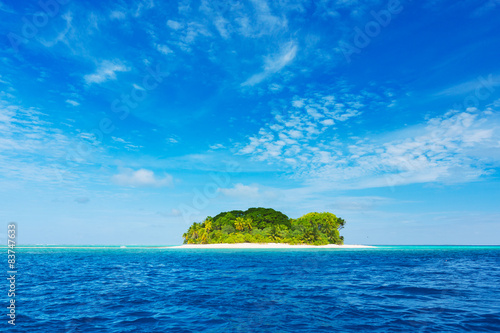 Door stickers Tropical beach Beautiful Tropical Island