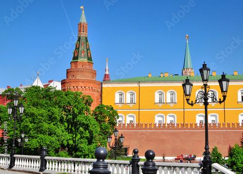Wall Murals Moscow Moscow Kremlin and Alexander Garden