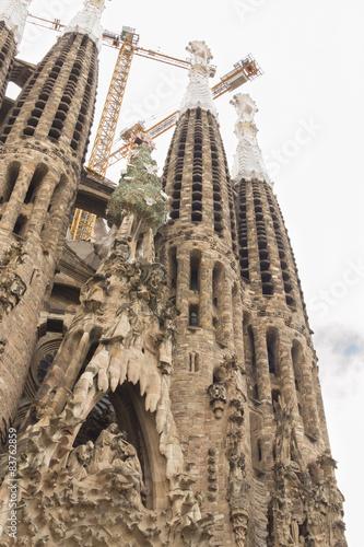 Papiers peints Monument Travaux de la Sagrada Familia