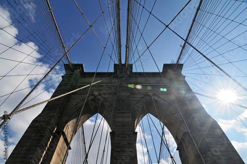Fototapety, obrazy: Brooklyn Bridge, NYC