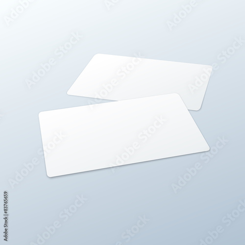 Business Cards Blank Mockup Template Buy This Stock Vector And