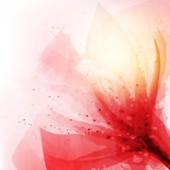Obraz na Szklekwiaty wektor tło