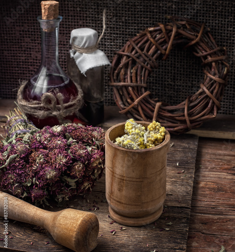 Foto  medicinal herb