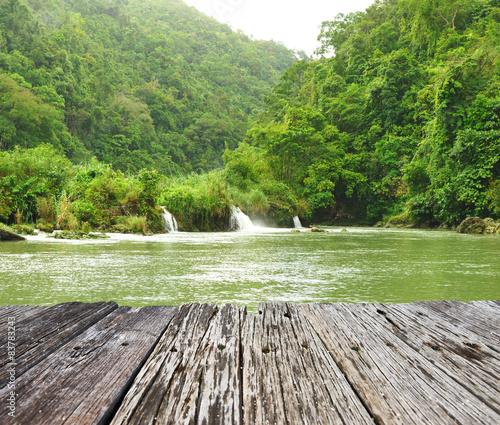Foto auf Gartenposter Fluss Tropical River