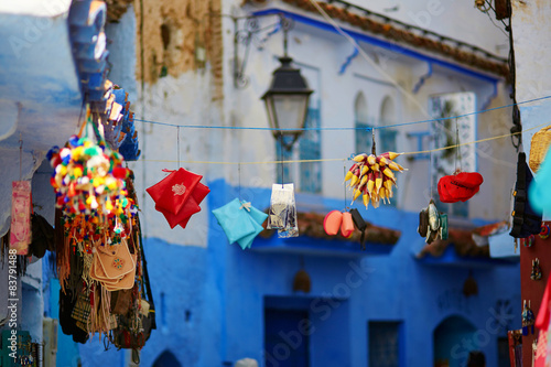 Fototapety, obrazy: Street in Chefchaouen, Morocco
