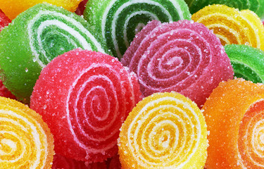 FototapetaSweet colorful candy
