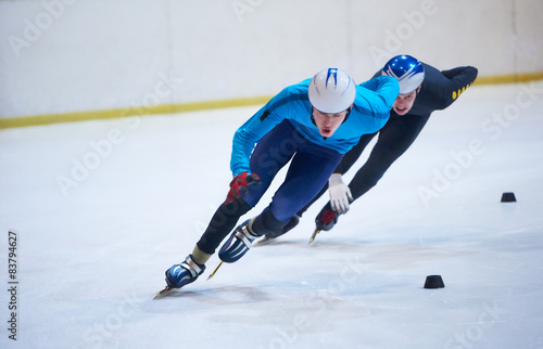 Fotografie, Obraz speed skating