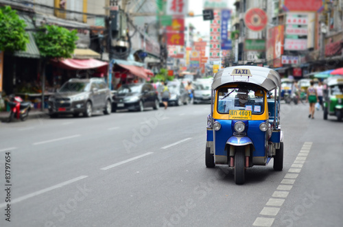 Tuk-Tuk Vehicle urban Bangkok Thailand