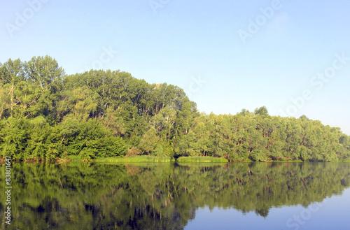 Fototapeta Beautiful summer landscape obraz na płótnie