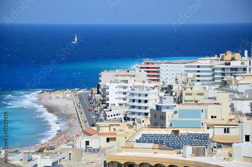 Rhodes cityscape