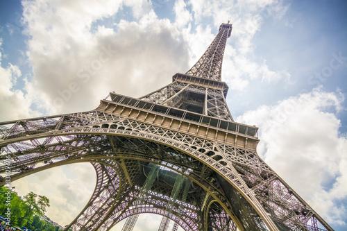 Fototapeta Eiffell tower - Paris obraz na płótnie