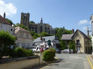 Fototapeta na wymiar Chaumont en Vexin