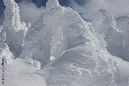 Poster Glaciers Arch Snow Monster, Mt.Hakkoda