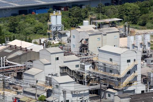 Staande foto Industrial geb. 工場