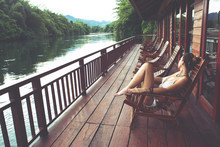 River Kwai In Thailand