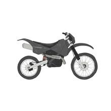 Motorbike Isolated