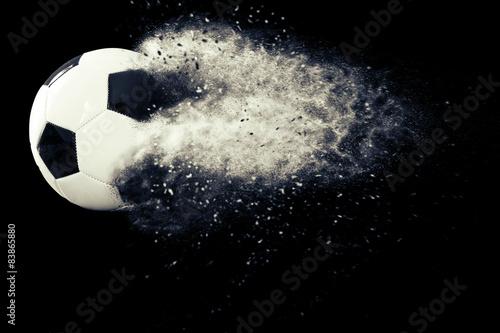 Dust soccer ball