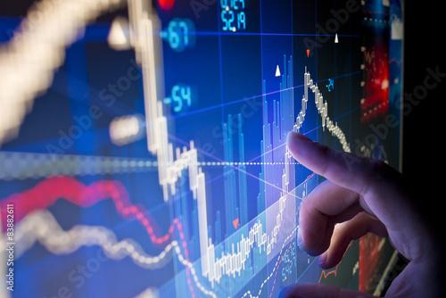 Fotografie, Obraz  Sklad dat Market