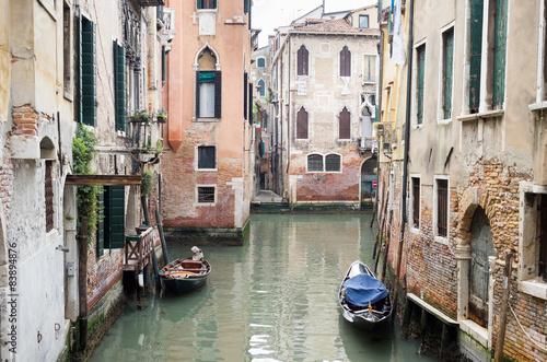 Türaufkleber Gondeln Venice, Italy