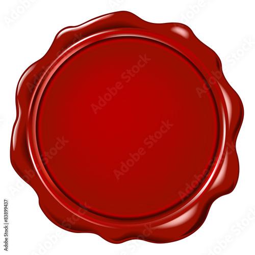 Fotografía  vector wax seal