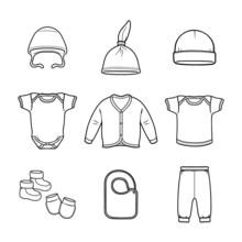 Baby Fashion Clothing, Fashion, Vector, Design, Wear,