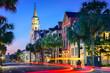 canvas print picture - Charleston Townscape