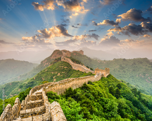 Deurstickers Chinese Muur Great Wall of China