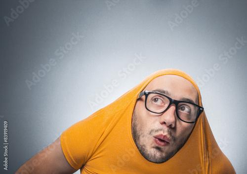 Fotografie, Obraz  Funny man